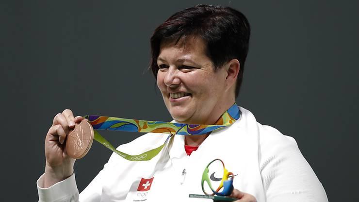 Sie gewann 2014 sowohl die Schweizer- als auch den Weltcup mit der Sportpistole. Ausserdem 2013 die Europameisterschaften.