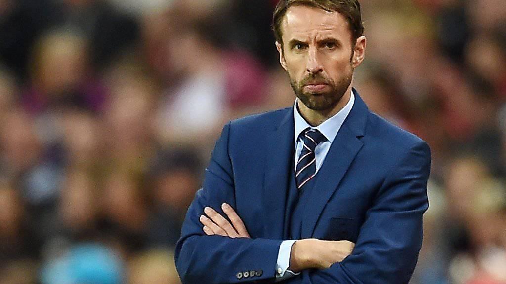 """Schicksalsspiel: Für Englands Interimscoach Gareth Southgate geht es gegen Schottland auch um seine Zukunft bei den """"Three Lions"""""""
