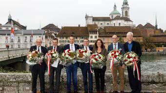 Unsere Vertreter in Bern: Die Solothurner National- und Ständeräte