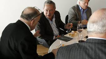 Knall in der FCL Holding AG: Mehrheitsaktionär Bernhard Alpstaeg (links) und Samih Sawiris sind unter anderen als Verwaltungsräte zurückgetreten