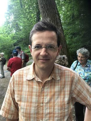 Schliesslich der frühere AZ-Chefredaktor und heutige Superchefredaktor der Blick-Gruppe, Christian Dorer. Er kommt aus Lenzburg, hat grad Ferien, und entschloss sich spontan, mitzuwandern.