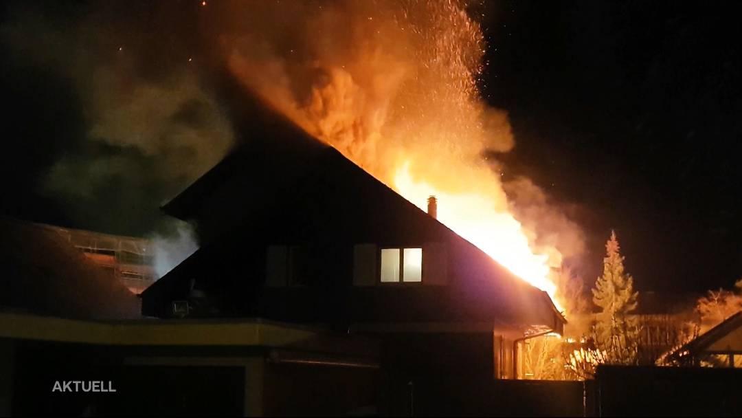Nach Brand in Buchs: Grosse Solidarität für die betroffene Familie. Ein Bericht von TeleM1.