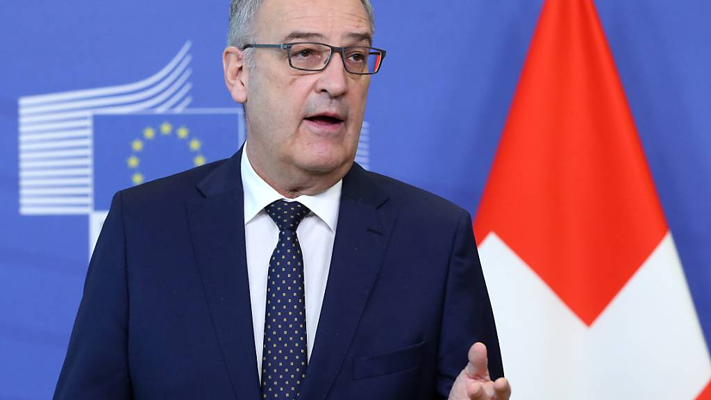 Rahmenabkommen laut Parmelin noch nicht gescheitert