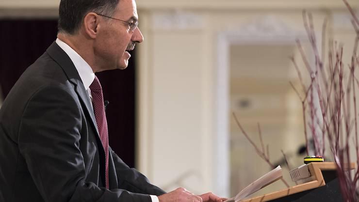 Dominique Biedermann will nach der anhaltenden Kritik nun doch von der Spitze der Ethos-Anlagestiftung zurücktreten. (Archivbild)