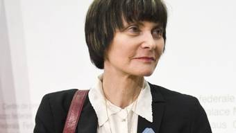 Bundespräsidentin Micheline Calmy-Rey verteidigt ihr Handeln (Archiv)