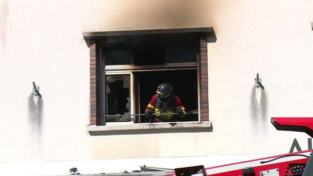 Brand in der alten Feuerwehrkaserne