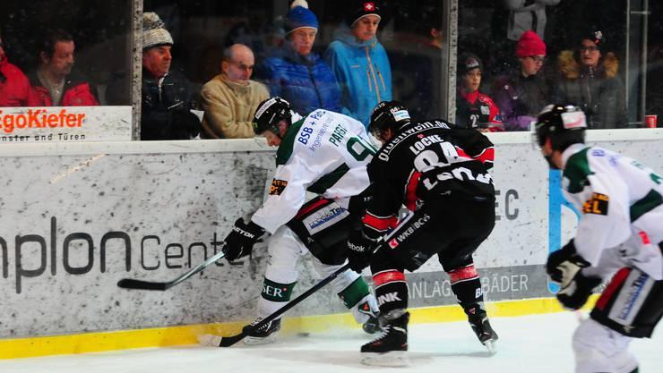 Umkämpftes Spiel zwei in der Playoff-Serie zwischen Olten und Visp.