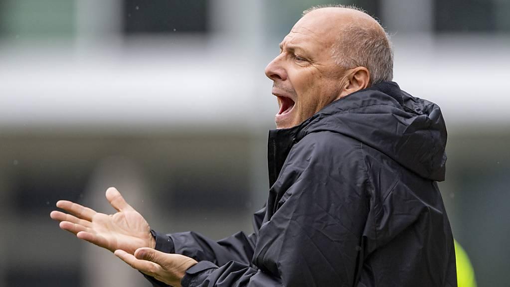 Der Liga-Einstand von Davide Morandi als Trainer des SC Kriens verzögert sich.