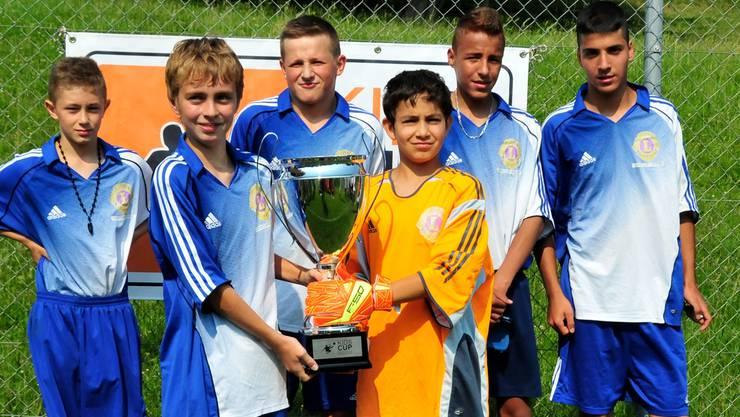 Der FC Lerchenbühl gewann den 4. Kids-Cup im Bachtelen.