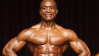 Neuendörfer Bertrand Ndawele ist fünffacher Weltmeister im Natural Bodybuilding