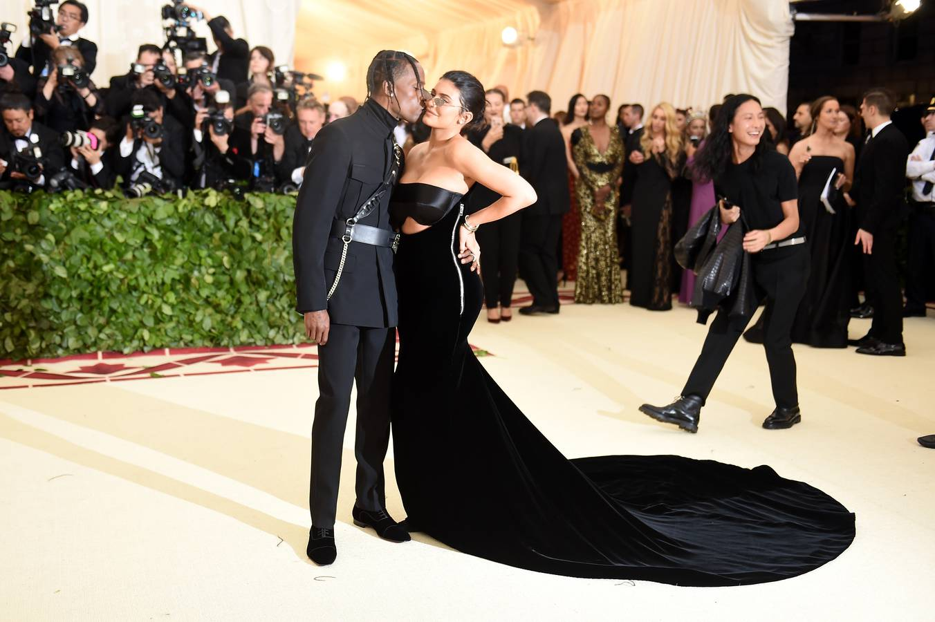 Kylie Jenner und Travis Scott (© Getty Images)