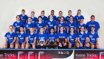 Das Team der Damen Lok Reinach.