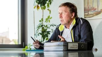 Zuchwilers Bauverwalter Peter Baumann freut sich über das Gold-Label seiner Stadt. (Archivbild)