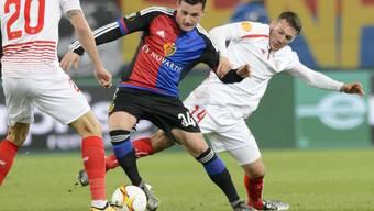 Taulant Xhaka glaubt, dass im Rückspiel gegen den FC Sevilla noch alles möglich ist.