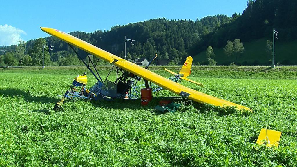 Bauma (ZH): Kleinflugzeug musste notlanden