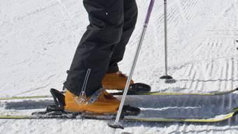 Auf Skipiste verunglückt (Symbolbild)
