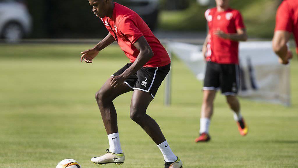 Edimilson Fernandes gehört erstmals zum Kreis der Schweizer A-Nationalmannschaft