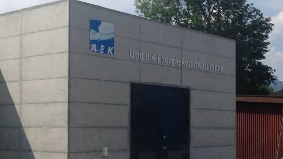 Die AEK-Heizzentrale in Derendingen