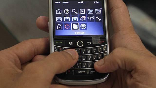 Blackberry wird zum Politikum (Archiv)