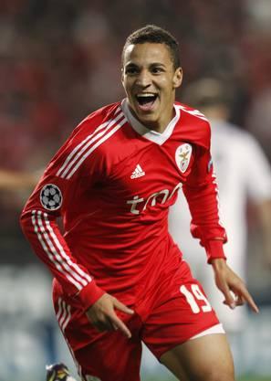 Weldon gelang für Benfica schon früh im Spiel ein Traumtor