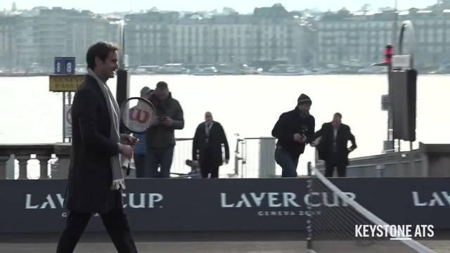 Laver Cup - Federer und Borg begeistern die Genfer