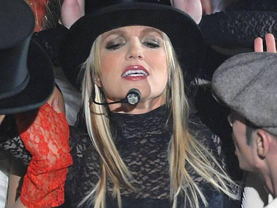 Britney Spears singt nicht live (Archiv)
