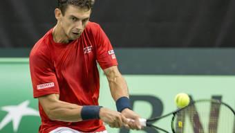 Schöner Erfolg in China: Henri Laaksonen steht zum zweiten Mal im Viertelfinal eines ATP-Turniers