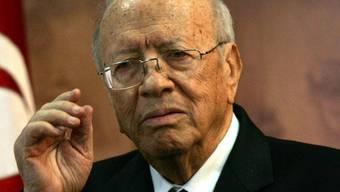 Tunesiens Premierminister Essebsi (Archiv)