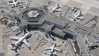 Flughafen Frankfurt mit Passagierrekord (Archivbild)
