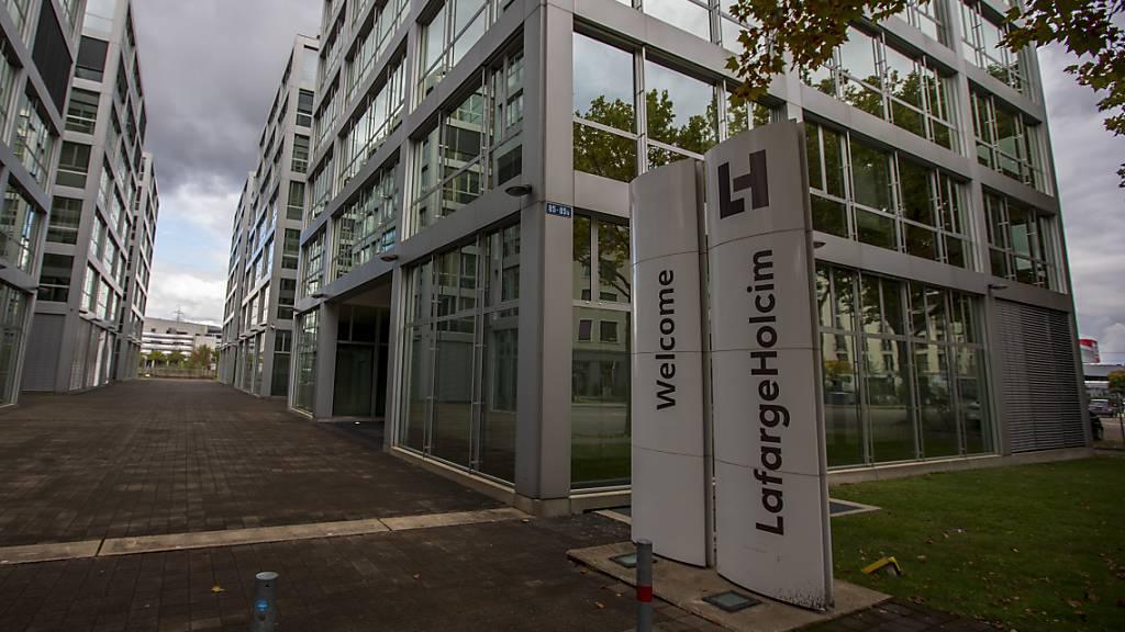 LafargeHolcim steigert Umsatz im 1. Quartal und verdoppelt Gewinn
