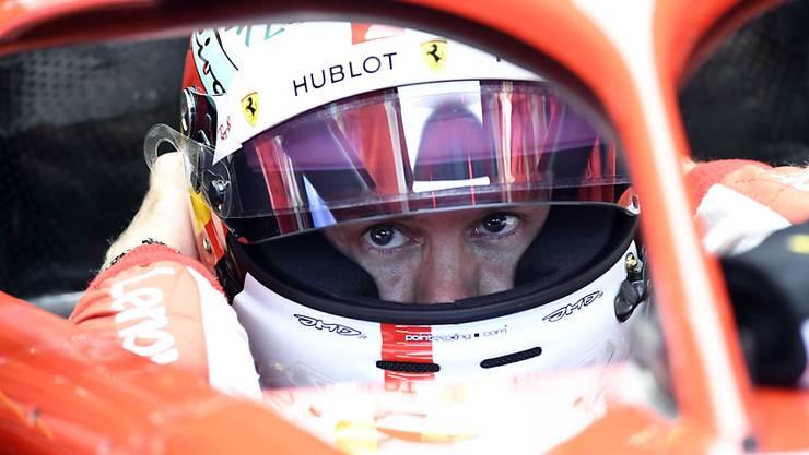 Sebastian Vettel hatte im Qualifying den besten Durchblick