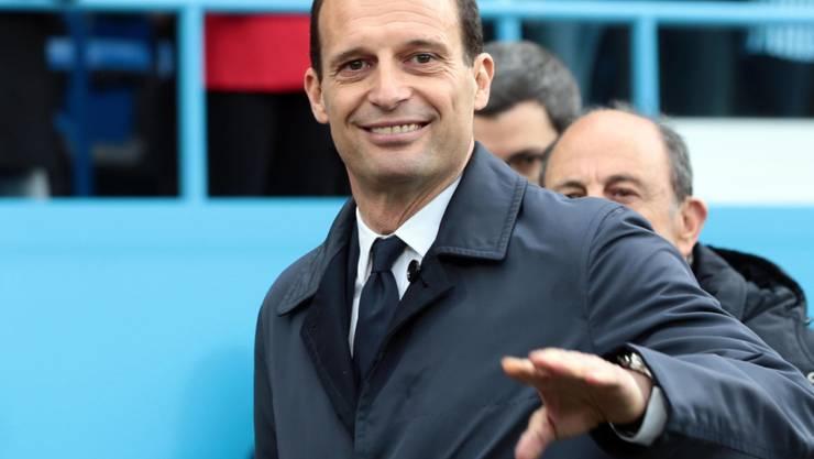 Nach fünf Jahren ist Schluss: Erfolgscoach Massimiliano Allegri verlässt Juventus Turin zum Ende der laufenden Saison