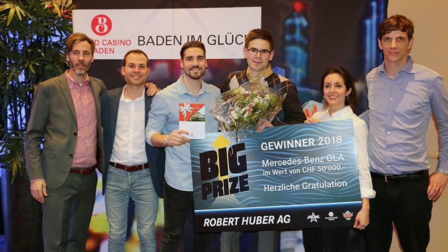Severin gewinnt den «Live Big Prize»