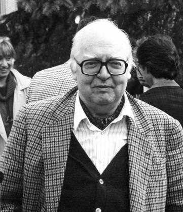 Friedrich Dürrenmatt, Sohn eines Protestantischen Pfarrers aus Konolfingen, ist auch heute noch einer der meistgelesenen Schweizer Schriftsteller.