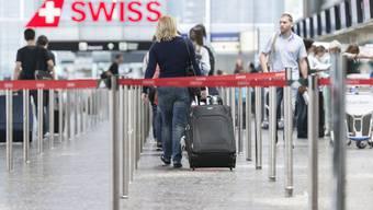 Swiss macht Kasse mit schwerem Gepäck. (Symbolbild)