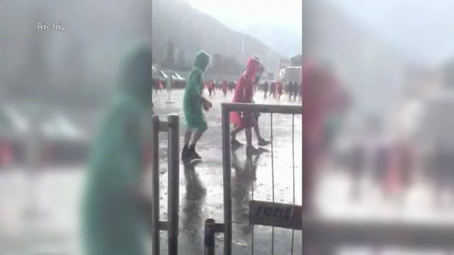 Greenfield Festival: Heftige Gewitter erwartet