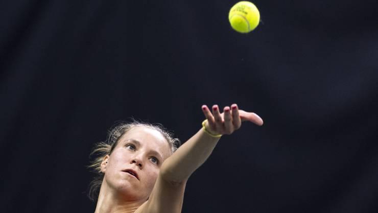 Starker Auftritt in San Antonio: Viktorija Golubic sorgte dafür, dass für das Schweizer Fed-Cup nach dem ersten Tag noch alles offen ist