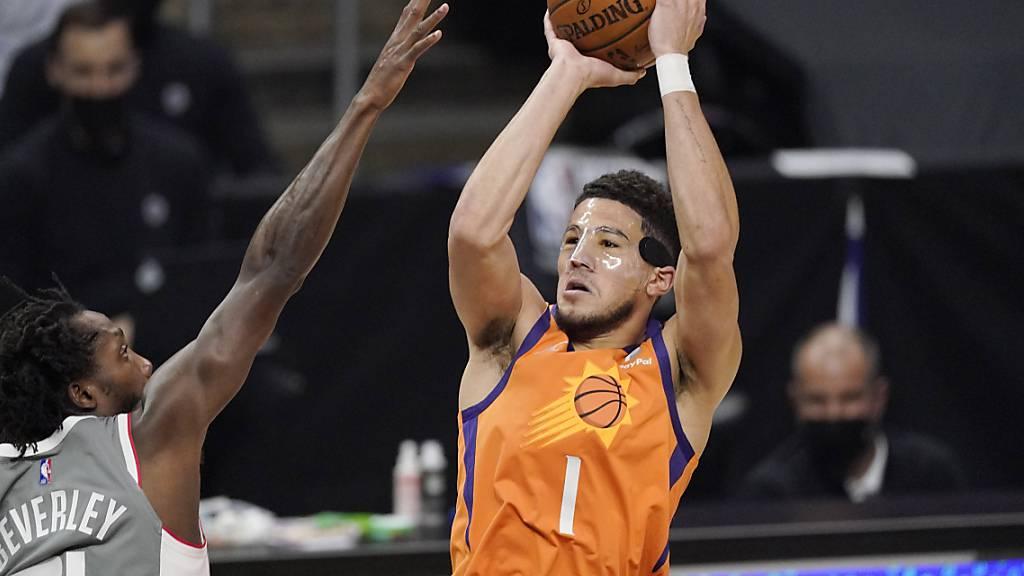 Phoenix Suns einen Sieg vor Finaleinzug entfernt