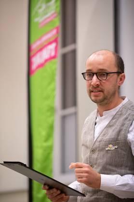 Kandidat Christof Schauwecker