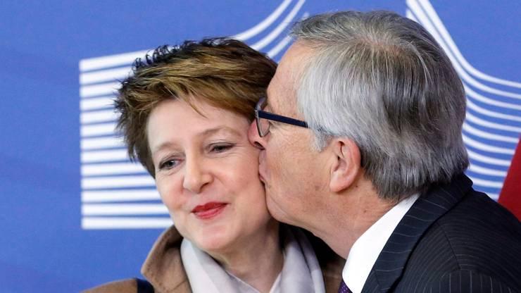 ...und sie geküsst!