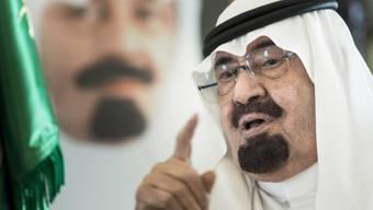 In seinem Land herrschen strenge Sitten: König Abdullah (Archiv)