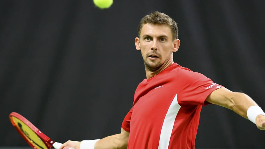 Hervorragend in Form: Henri Laaksonen feierte seinen sechsten Turniersieg auf Challenger-Stufe
