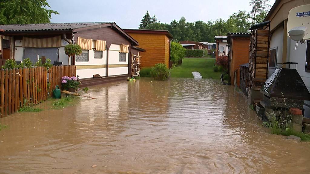 Über 120 Notrufe: Thurgauer Feuerwehren wegen Gewitter im Dauereinsatz