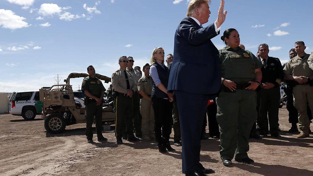 Trump: Wir können niemanden mehr aufnehmen