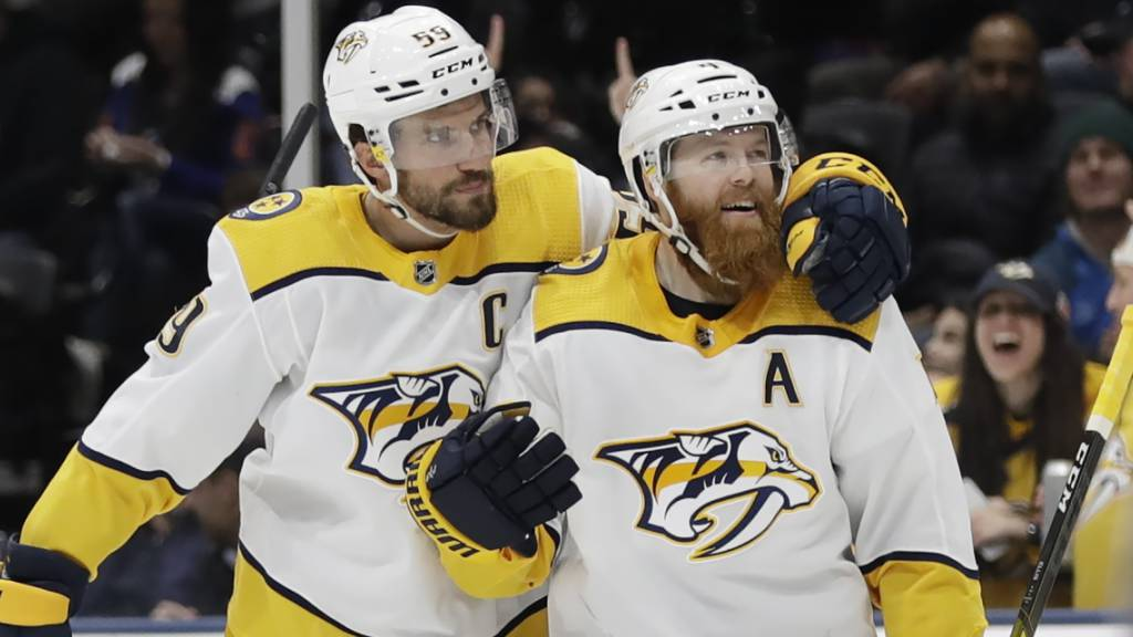 NHL: Roman Josi trifft doppelt