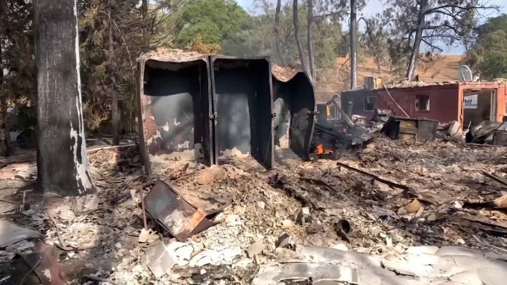50'000 müssen Häuser nahe Los Angeles wegen Waldbrand verlassen