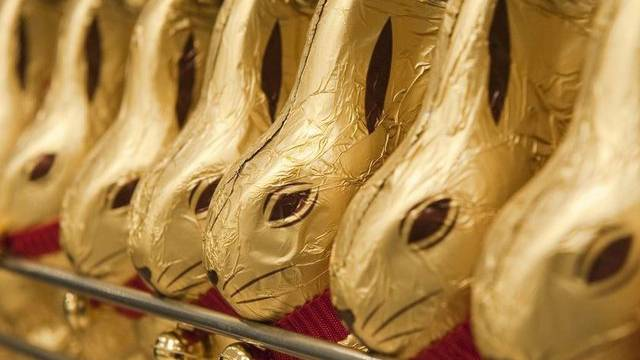 Schoggi-Hasen des Schweizer Schokolade-Herstellers mit Sitz in Kilchberg (Archiv)