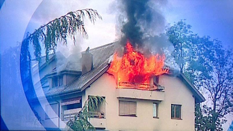 Balkonbrand