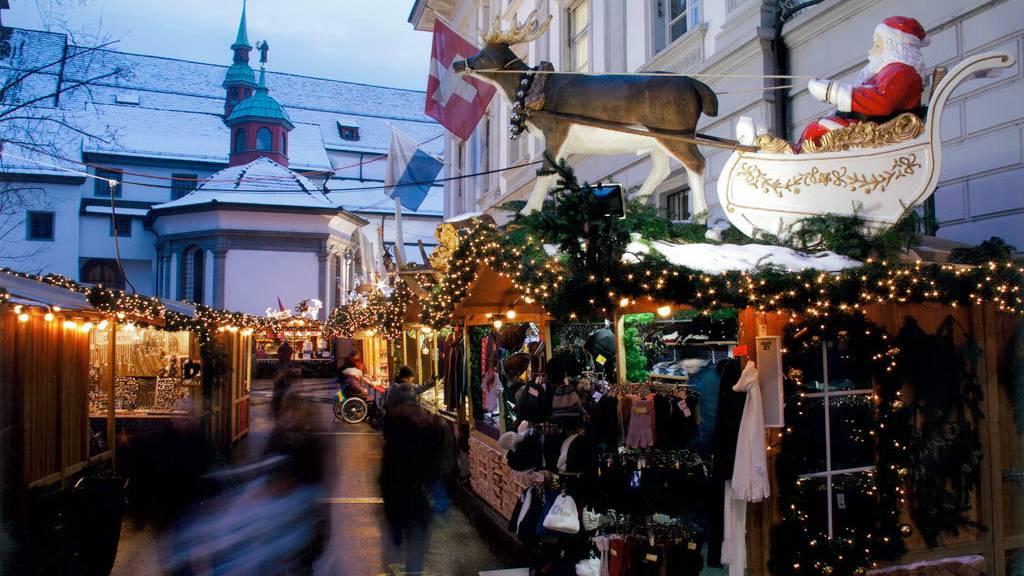 Dieses Jahr gibt es keinen «Lozärner Wiehnachtsmärt»