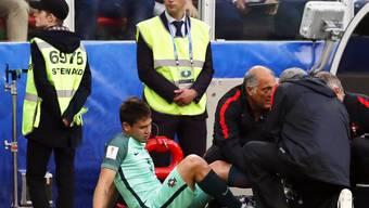 Raphaël Guerreiro verletzte sich gegen Russland